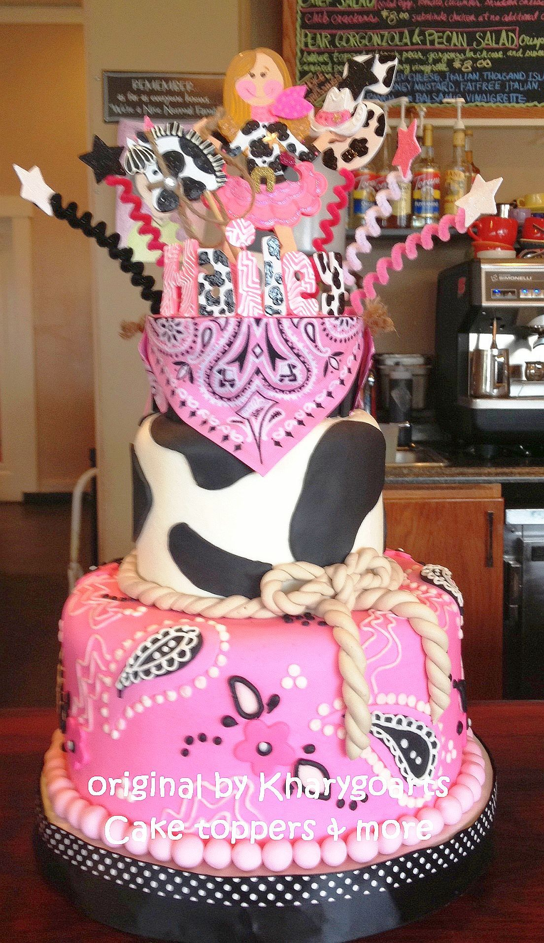 Enjoyable Birthday Cake Topper Cowgirl Cowboy Party Centerpiece Cowgirl Personalised Birthday Cards Sponlily Jamesorg