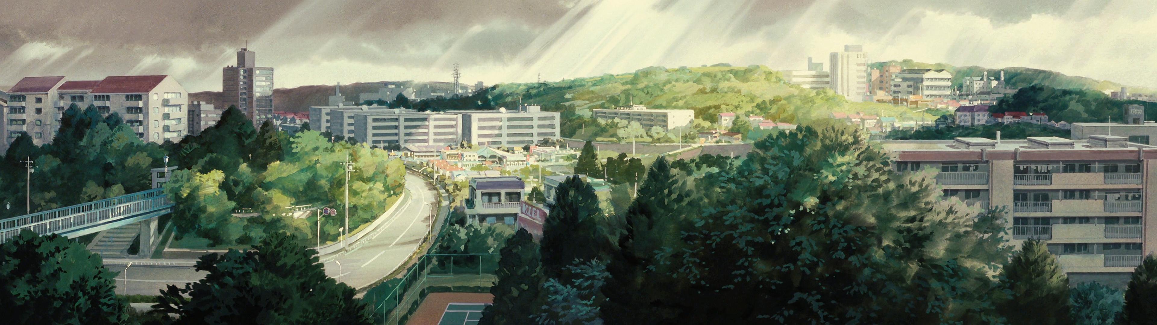 Ghibli 3840 x 1080 Studio ghibli, Studio ghibli
