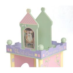 @Overstock - Add some fun to your child's room with a girl's Time To Read revolving bookcase  Kids' furniture features subtle pastel colors  Charming bookcase revolves for easy accesshttp://www.overstock.com/Home-Garden/Time-To-Read-Girls-Revolving-Bookcase/4383799/product.html?CID=214117 $157.00