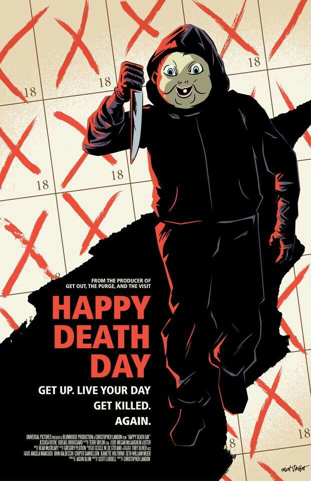 Happy death day horror pinterest death horror and movie happy death day stopboris Image collections