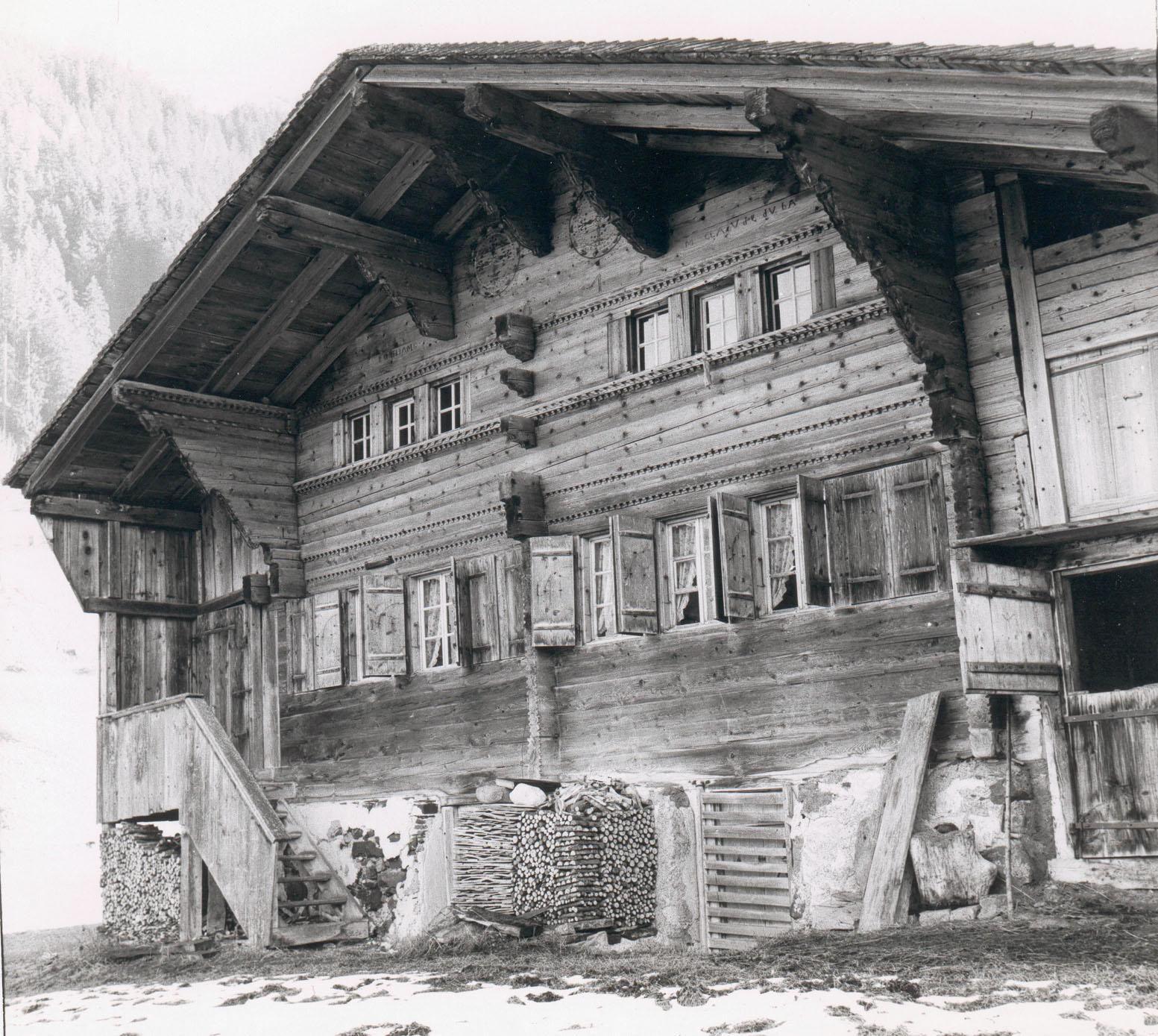 Old Chalet Les Diablerets Bauerhofe Holzhaus Bauernhaus