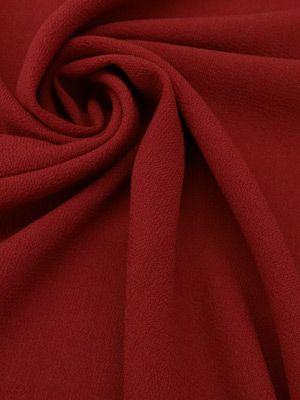 Fabric Mart :: Fabrics P-Z :: Wool Crepe :: Cinnamon Red Worsted Wool Crepe 56W