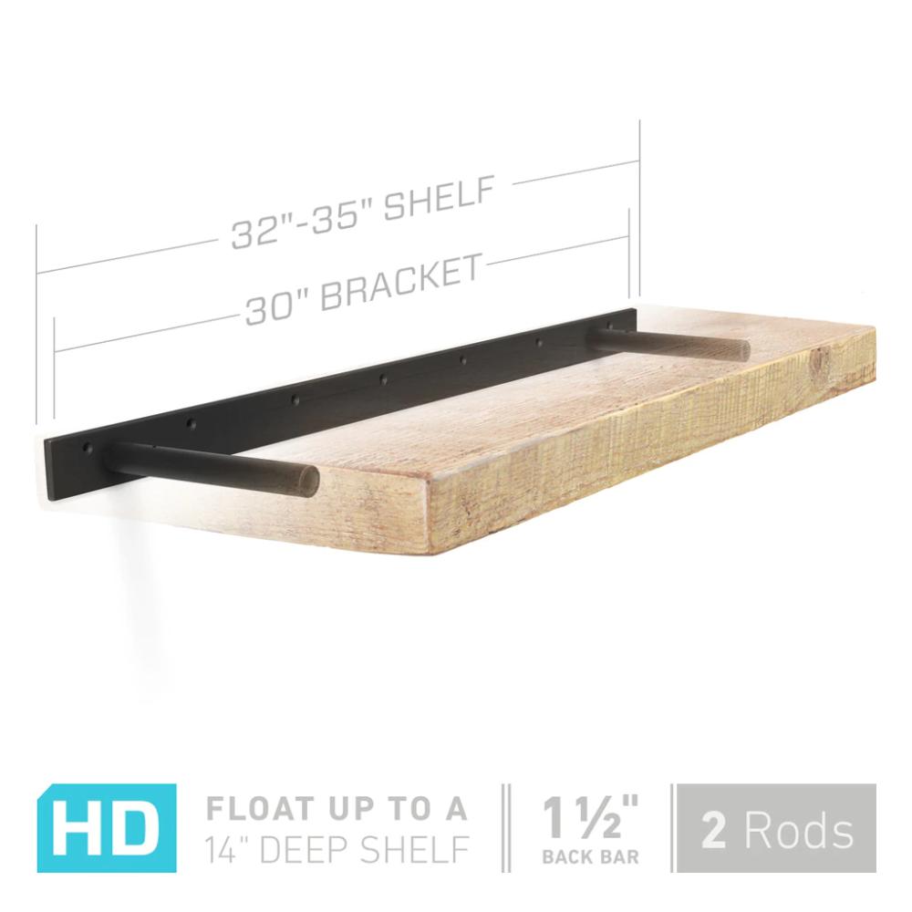 Aksel Hd 30 Floating Shelf Bracket In 2020 Floating Shelf Brackets Shelf Brackets Floating Shelves