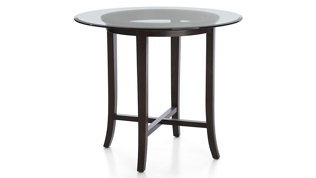 Fresh Round Glass Bar Table