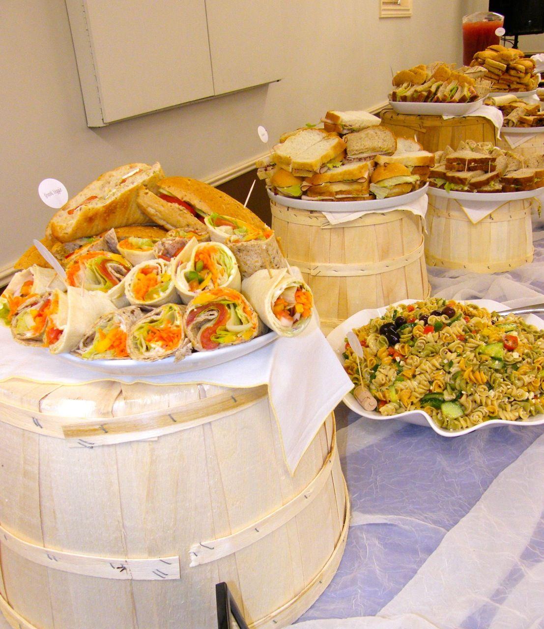 Fall Wedding Buffet Menu Ideas: Virginia Fynes Catering- Catering Annapolis Valley Nova