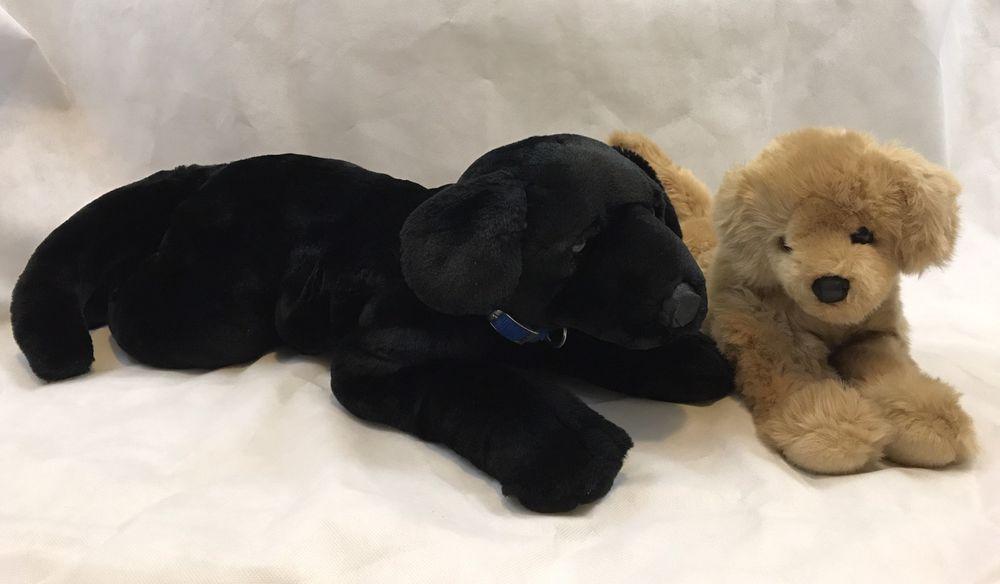 22869463f0c7 Kids Preferred Black Lab And Douglas Yellow Labrador Plush Stuffed Animals  | Toys & Hobbies, Stuffed Animals, Other Stuffed Animals | eBay!