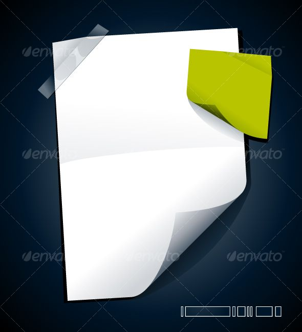 Just blank paper Vector graphics, Vector design and Infographics - blank paper background