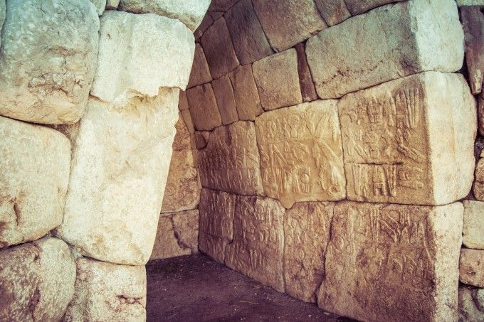 hattusa and yazilikaya ancient city of the hittites turkey placescapital