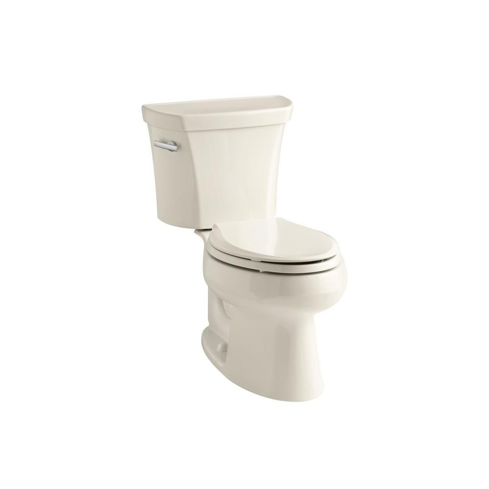 Kohler Wellworth 2 Piece 1 6 Gpf Single Flush Elongated Toilet In