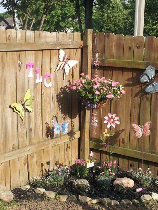 image result for diy memorial corner fence garden outdoor spaces