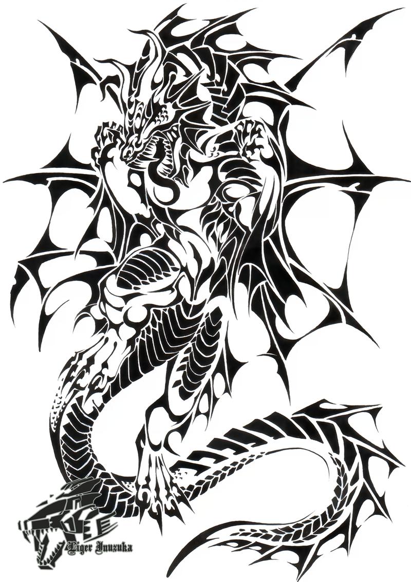 картинки узор дракон подобрала