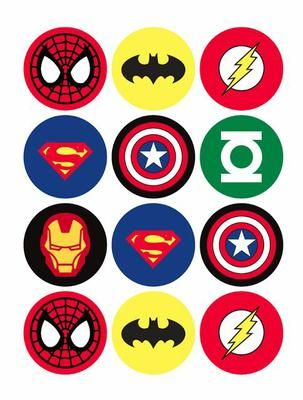 insignias-superheroes