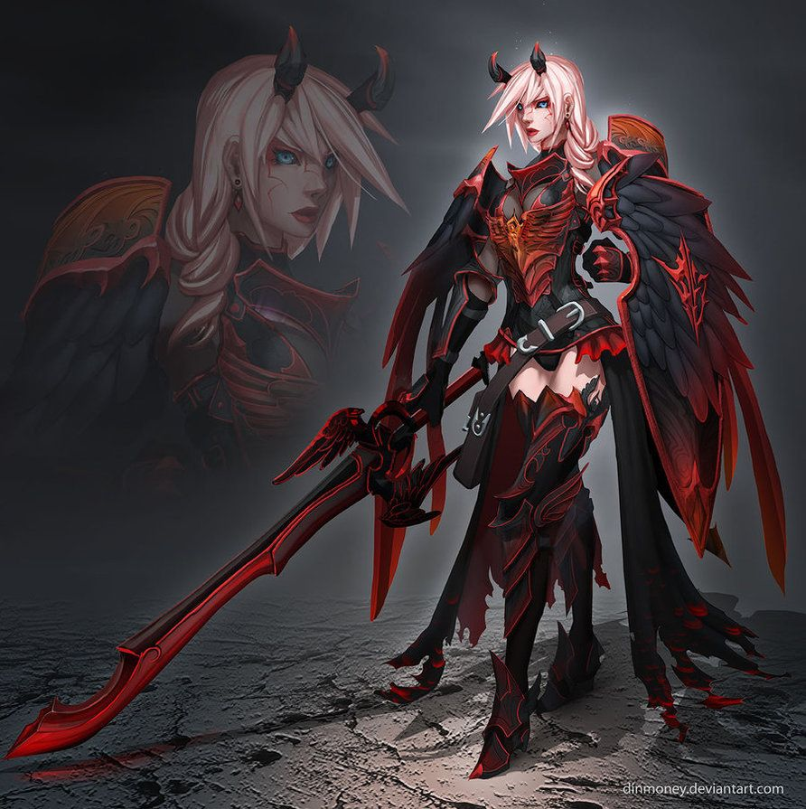 Corrupted Angel Armor by dinmoney on DeviantArt