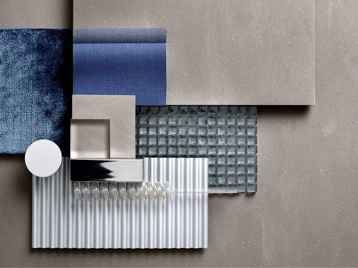 Corian Make Their Uk Debut At Designjunction Material Board Material Textures Materials Board Interior Design