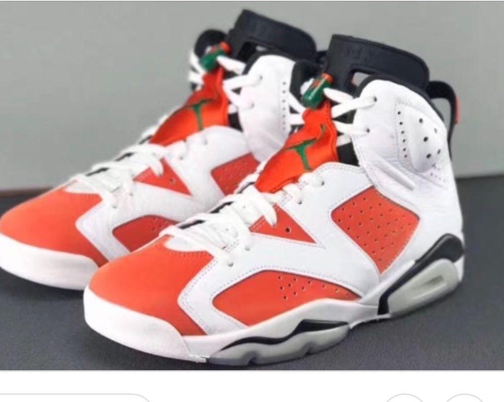 0b82e9afeaa88f Nike Air Jordan Retro VI 6 GATORADE Summit Orange LIKE MIKE 384664-145   fashion  clothing  shoes  accessories  mensshoes  athleticshoes (ebay link)
