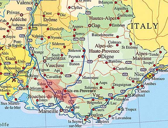 provence maps provence france map places to visit pinterest