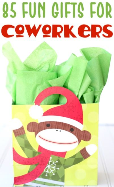 99 Coworker Gift Ideas They'll LOVE! {fun + inexpensive gifts}