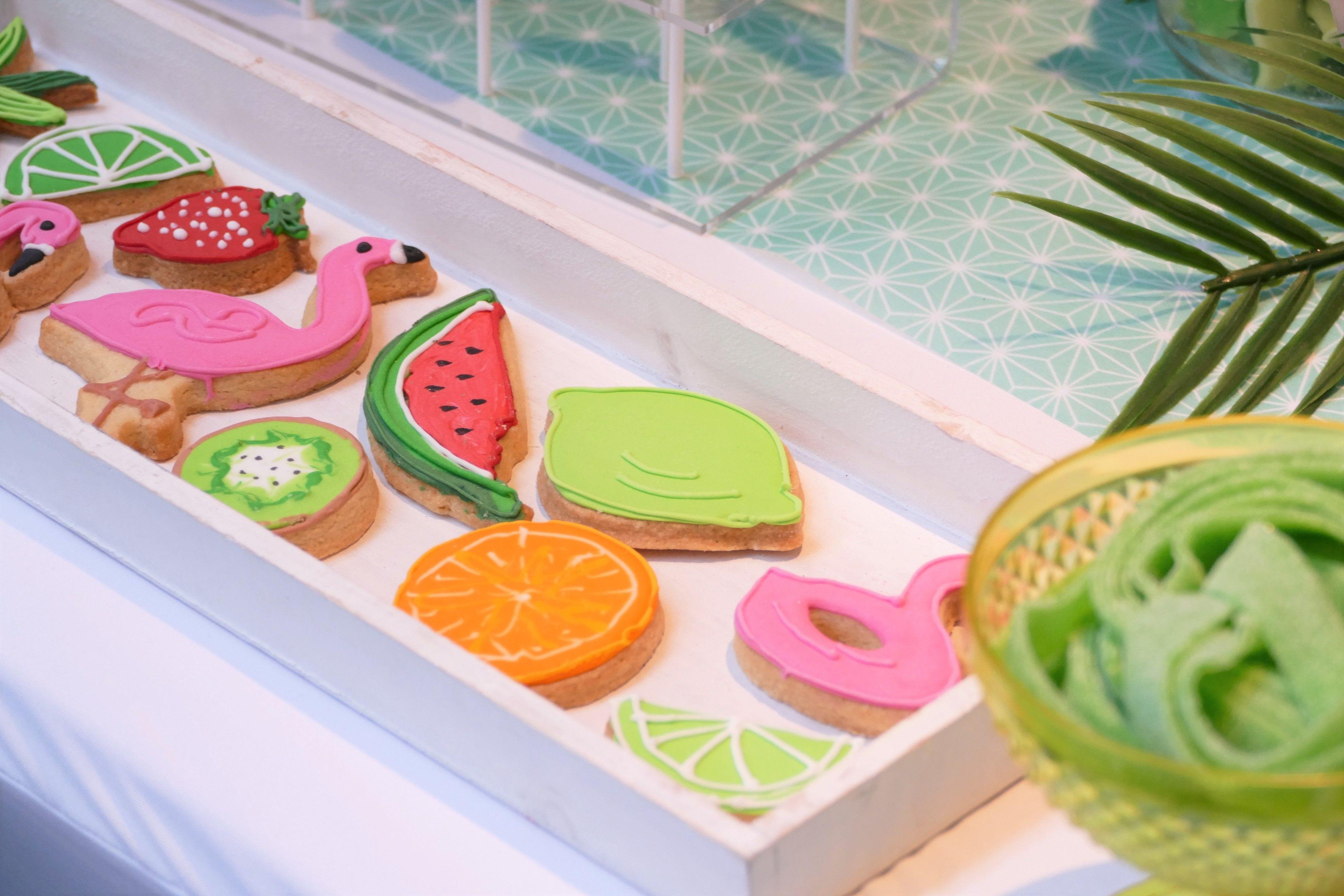 Sweet Table Thème Tropical Pour Gifi Par Studio Candy