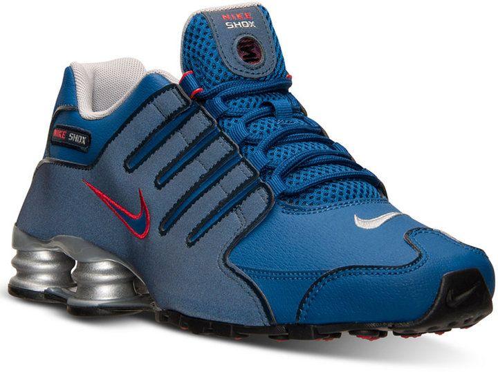 ... Nike Mens Shox NZ EU Running Sneakers from Finish Line . ... 9c3ea6e99c5