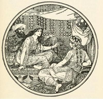 The Arabian nights entertainments (1929, c1898)  illustrations by Henry Justice Ford