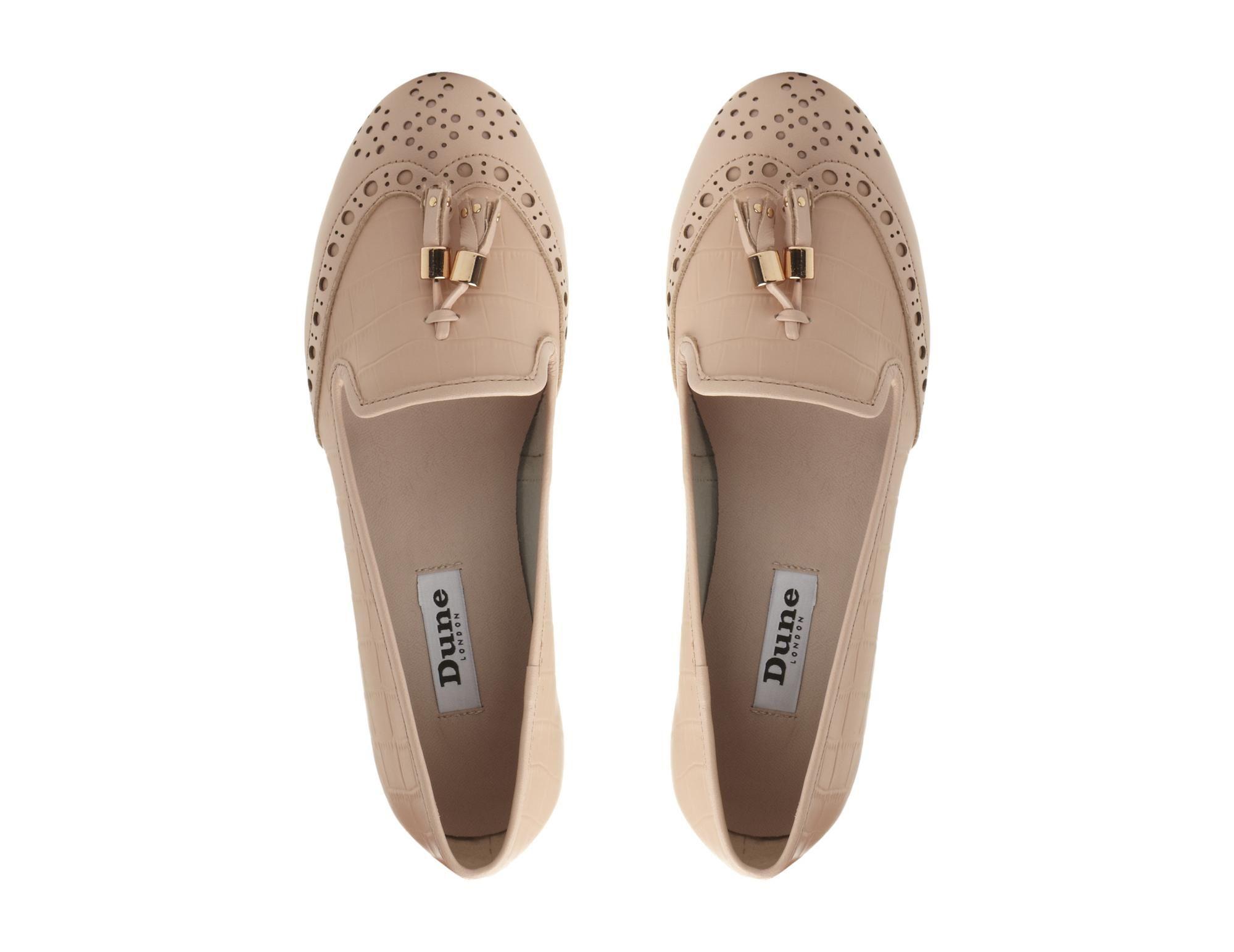 2cb11debca9 DUNE LADIES LOKI - Brogue Tassel Detail Loafer - pink