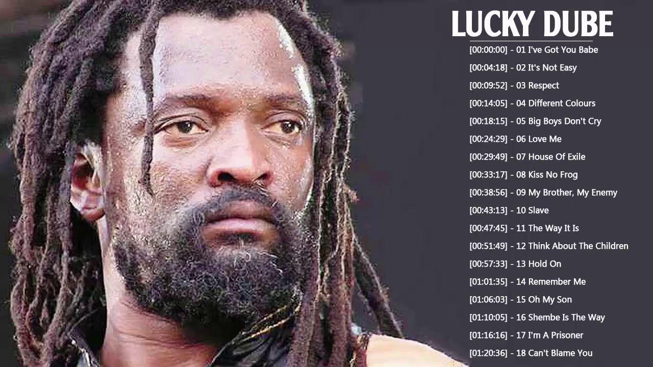 Lucky Dube Greatest Hits - Best Songs Of Lucky Dube Full