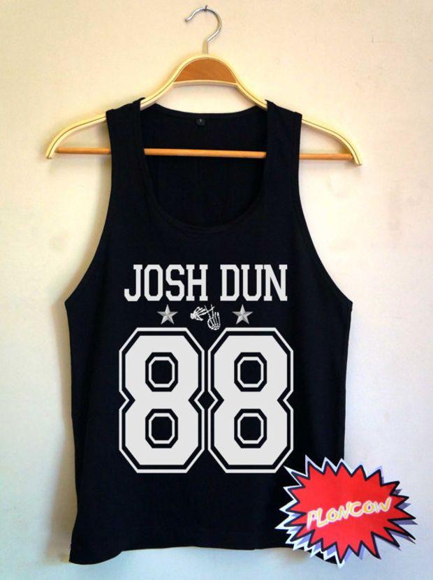 twenty one pilots shirt Josh Dun shirt Josh Dun tshirt UNISEX Tank Top for Men & Women Josh Dun 88 TT