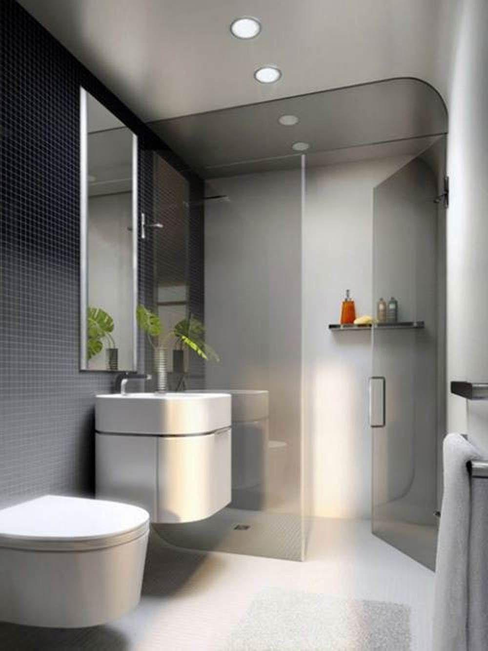 7 Essential Tips For Modern Bathroom Ideas For A Stylish Look Houseminds Modern Small Bathrooms Bathroom Design Small Modern Small Apartment Bathroom