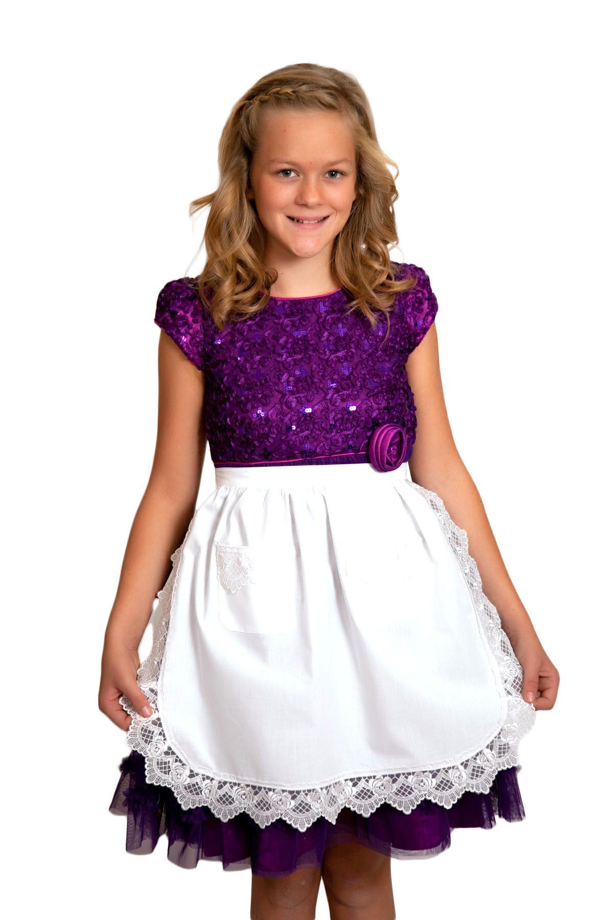 White apron halloween