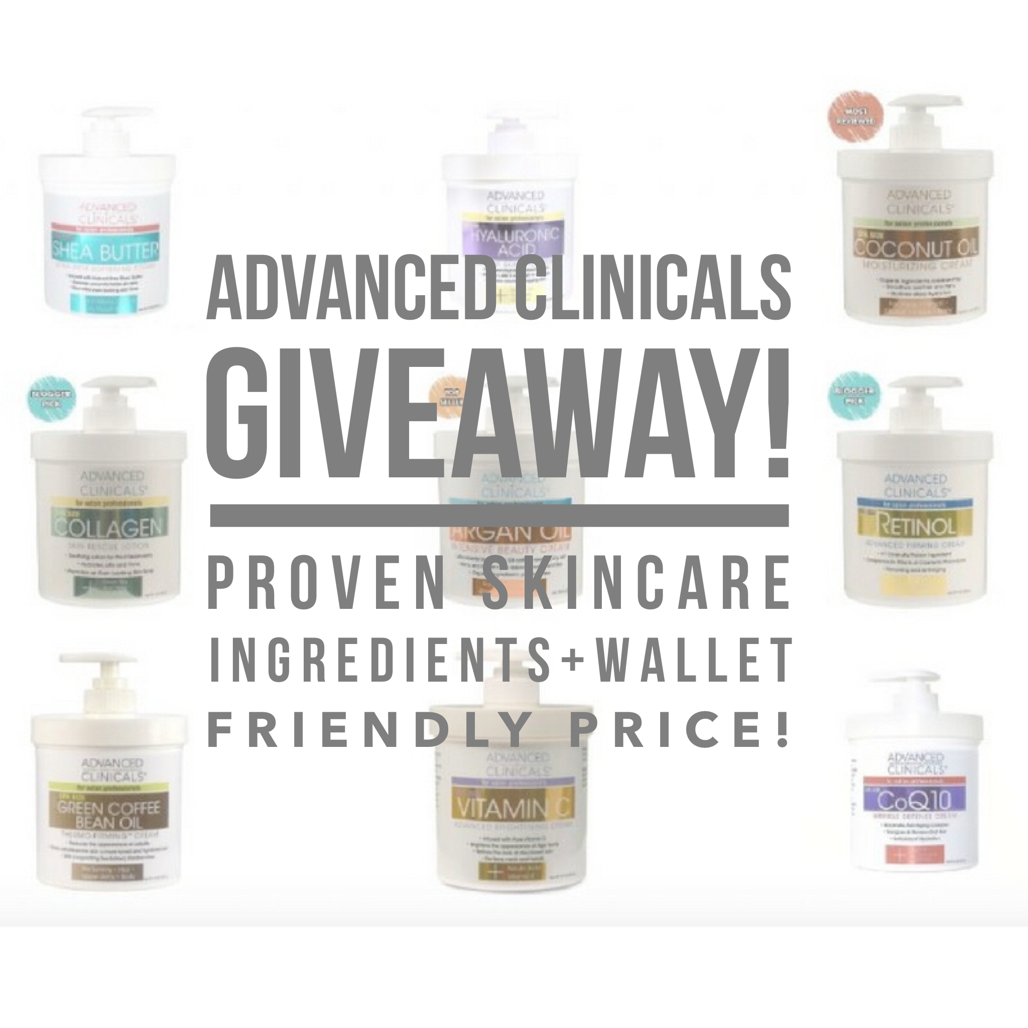 Advanced Clinicals Giveaway @savvysassymoms