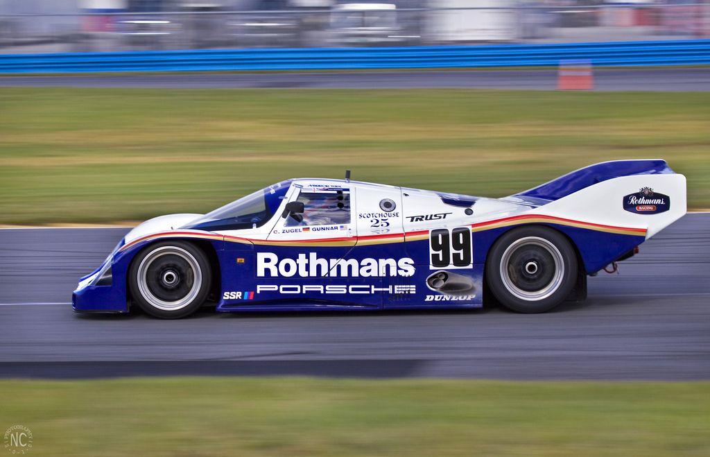 Rothmans Porsche 962 With Images Sports Car Racing Porsche