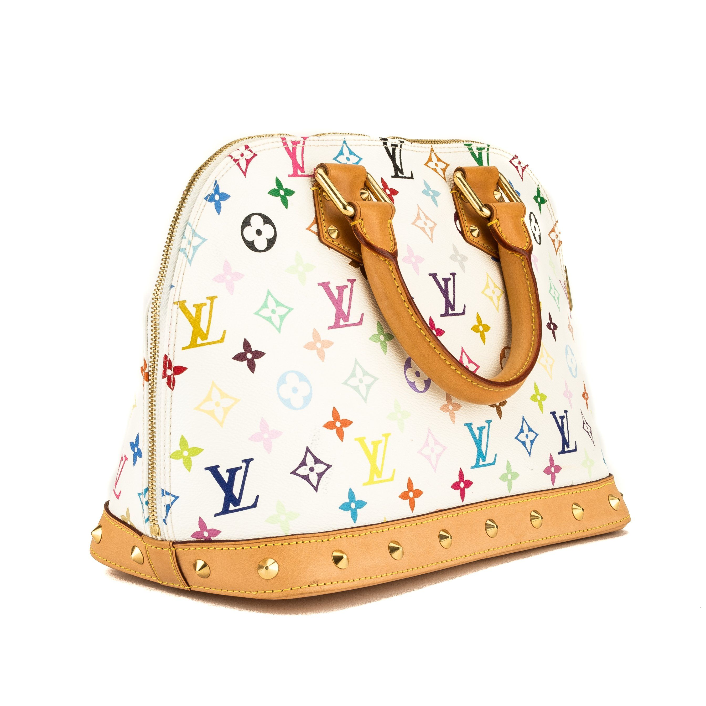 82c79b2926b5 Louis Vuitton White Monogram Multicolore Alma (3964036) - 3964036