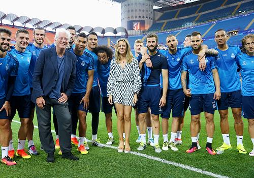 Madridistaforever Real Madrid Richard Gere Champions League Final