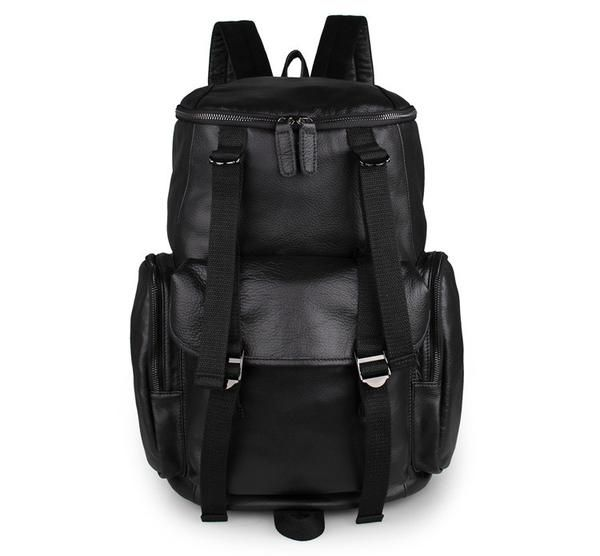 100% Guarantee genuine - excellent cowhide leather Backpack straps be able to adjusted length freely, this bag may do two uses: travel backpack, bookbag