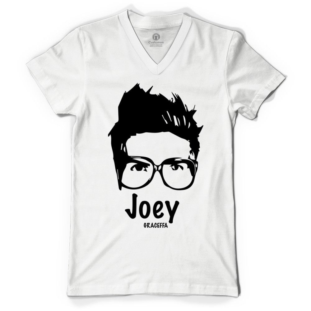 Joey Graceffa Circle Logo Tee Black For Women