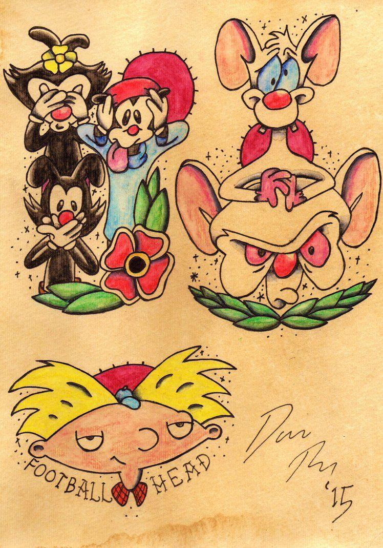 la tattoo artists cartoon