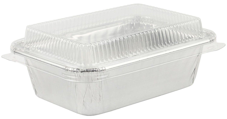 Aluminum foil miniloaf bread bake pan small pan for