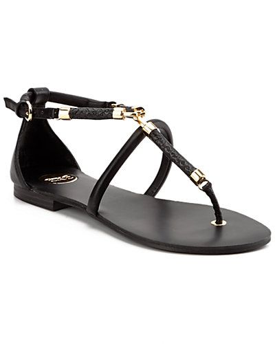 """Some of you have to get in on this: exe by Tsakiris Mallas """"Lorena"""" Snakeskin-Embossed Sandal"""