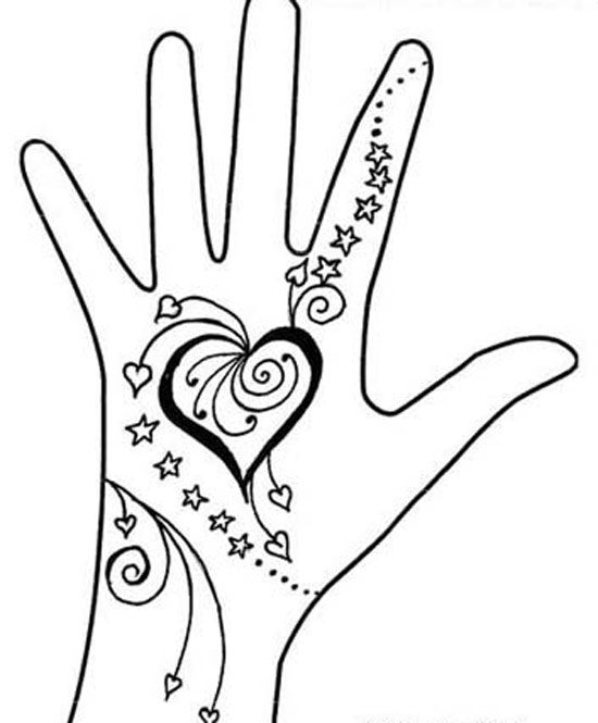 30 very simple easy best mehndi patterns for hands for Drawing patterns for beginners