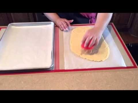 Flour Box Bakery Dough Ez Rolling Mat Decorated Cookies Tutorial Cookie Decorating Dessert Decoration