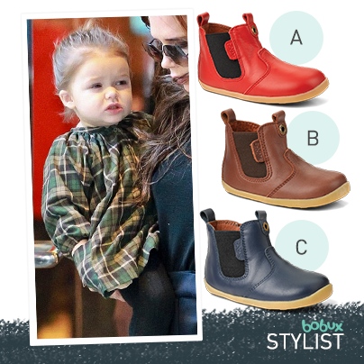 This Bobux Stylist features the adorable Harper Beckham. Which Outback boot  do you think best suits her outfit  d75a9a226