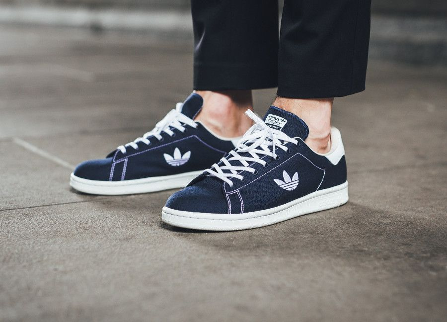 Comment acheter la Adidas Stan Smith Trefoil Stitching Navy