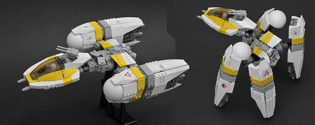 Y-Wing Evolved   Evo, Trade federation and Legos