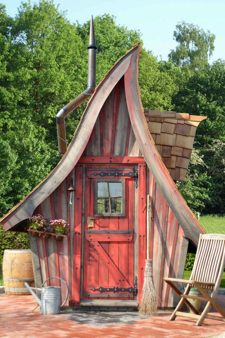 Des cabanes de rêve pour sublimer votre jardin | toilettes seches ...