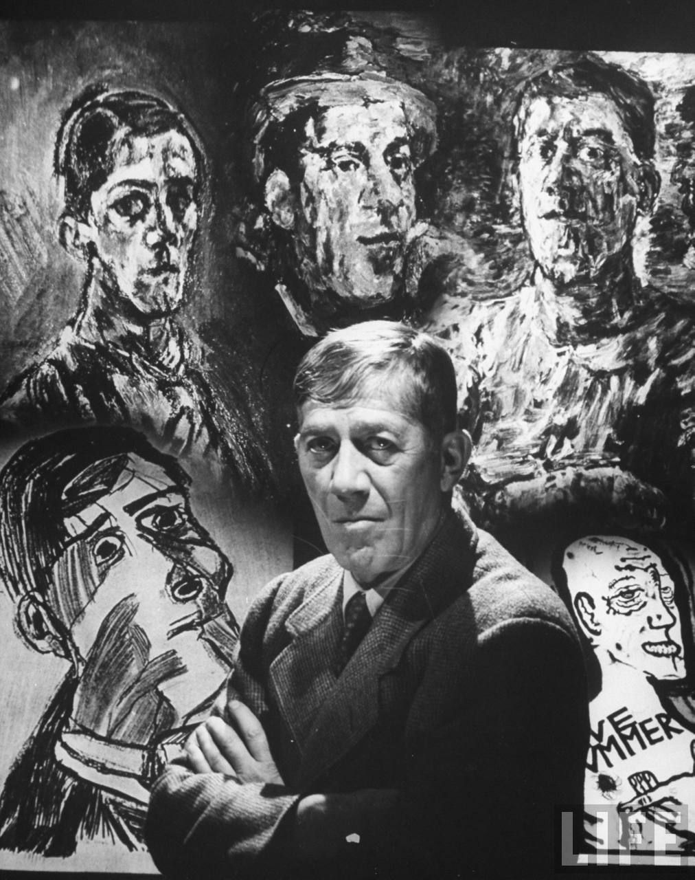 a biography of oskar kokoschka an austrian artist poet and playwright Oskar kokoschka (1 march 188622 february 1980) was an austrian artist, poet and playwright best known for his intense expressionistic portraits and landscapes writings kokoschka's literary works are as peculiar and interesting as his art.