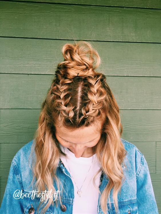 44+ Long hair knot braid ideas in 2021