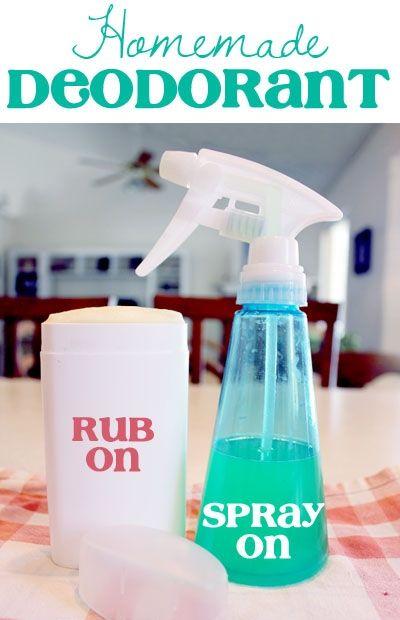 DIY Deodorant & Antiperspirant (Aluminum Free) | NutButterLuver