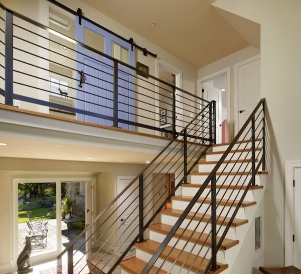Interior Home Decoration Indoor Stairs Design Pictures: Indoor Stair Railing Designs