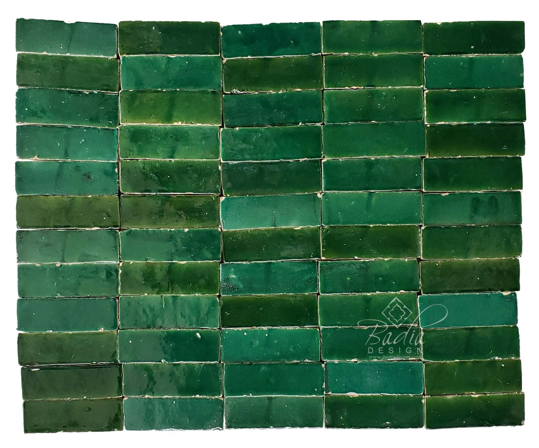 green mosaic tiles mosaic tile