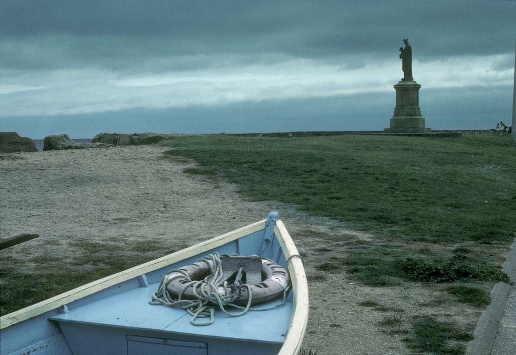 "Harry Gruyaert - France. 1984. Normandy region. Calvados department. Near the ""Omaha"" beach."